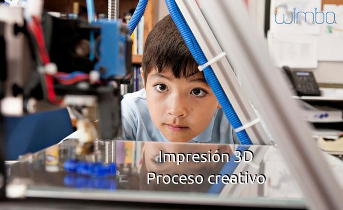 proceso creativo con impresion 3d
